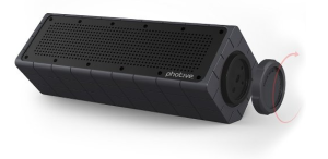 Photive HYDRA Rugged Water Resistant Wireless Bluetooth Speaker Review
