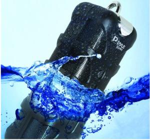 Pyle PWPBT60 Sound Box Splash Bluetooth Rugged and Splash-Proof Marine Grade Portable Wireless Speaker